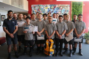 BLAST students awarded at Glenfield College